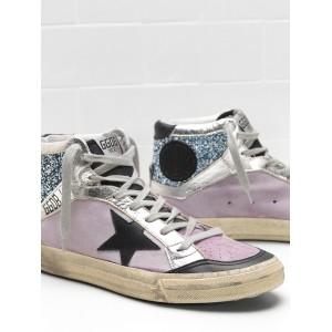 Men Golden Goose GGDB 2.12 Calf Suede Upper Star In Leather Sneakers
