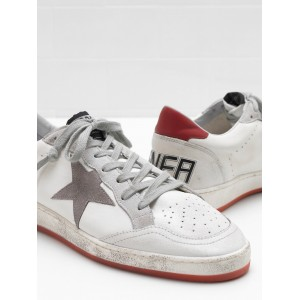 Men Golden Goose GGDB Ball Star In Calf Leather Suede Star Sneakers