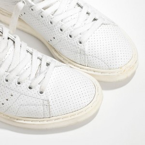 Men Golden Goose GGDB Starter In Traforata White Spot Sneakers