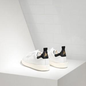 Men Golden Goose GGDB Starter In White Black Sneakers