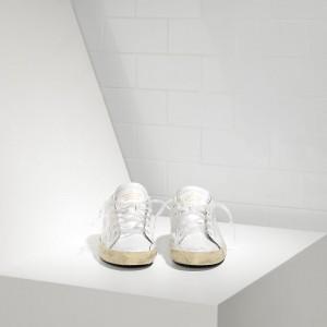 Men Golden Goose GGDB Superstar In Light White Sneakers