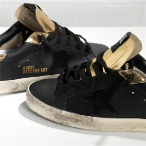 Men Golden Goose GGDB Super Star Limited Edition Leather Suede Star Sneakers