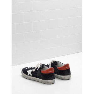 Men Golden Goose GGDB Superstar Calf Suede Star And In Leather Sneakers