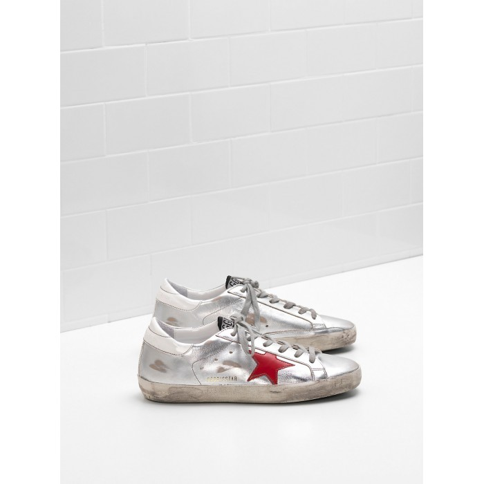 Men Golden Goose GGDB Superstar Leather Star In Glossy Material Sneakers