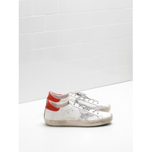 Men Golden Goose GGDB Superstar Leather Star In Rubber Sole Sneakers