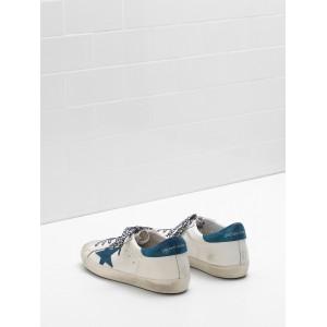 Men Golden Goose GGDB Superstar Leather Star In Suede Leop Sneakers