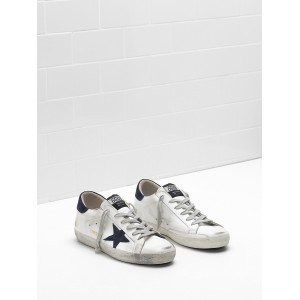 Men Golden Goose GGDB Superstar Leather Suede Black Star Sneakers