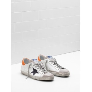 Men Golden Goose GGDB Superstar Leather Suede Star Balck Star Sneakers
