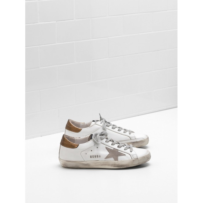Men Golden Goose GGDB Superstar Leather Suede Star In Laminated Sneakers