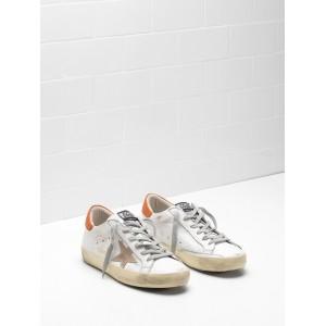 Men Golden Goose GGDB Superstar Leather Suede Star Leather Chestnut Star Sneakers