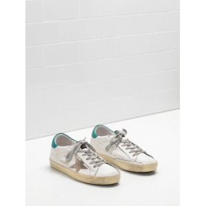 Men Golden Goose GGDB Superstar Leather Suede Star Rubber Sole Golden Logo Sneakers
