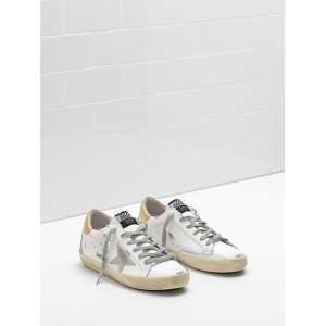 Men Golden Goose GGDB Superstar Upper In Calf Leather Suede Star Embossed Logo Lettering Sneakers