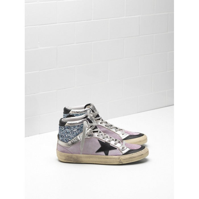 Women Golden Goose GGDB 2.12 Calf Suede Upper Star In Leather Sneakers