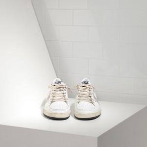 Women Golden Goose GGDB Ball Star In White Ice Star Sneakers