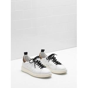 Women Golden Goose GGDB Starter Upper In Effect Leather Sneakers