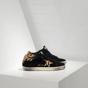 Women Golden Goose GGDB Superstar In Nabuk In Cavallino Sneakers