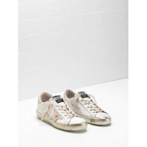 Women Golden Goose GGDB Superstar Calf Leather In Golden Sneakers
