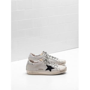 Women Golden Goose GGDB Superstar In Technical Suede Star In Laminated Sneakers