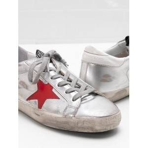 Women Golden Goose GGDB Superstar Leather Star In Glossy Material Sneakers