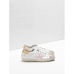 Women Golden Goose GGDB Superstar Leather Star In Laminated Sneakers