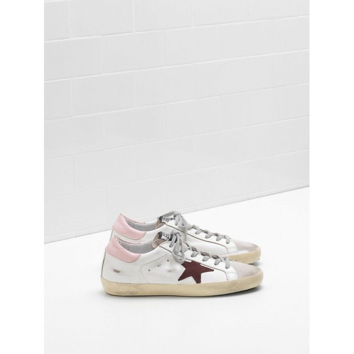 Women Golden Goose GGDB Superstar Leather Star In Suede Leather Sneakers