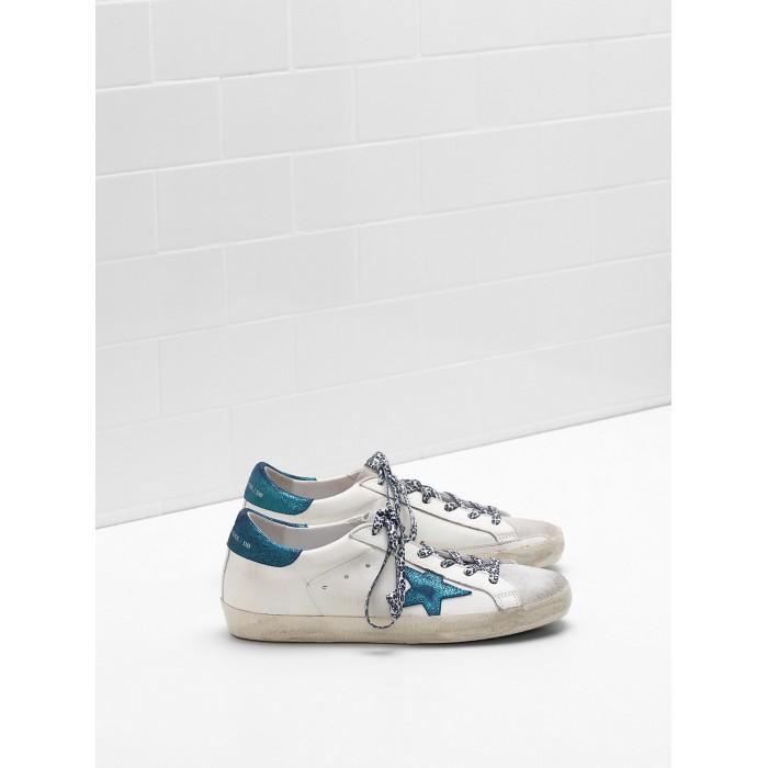 Women Golden Goose GGDB Superstar Leather Star In Suede Leop Sneakers