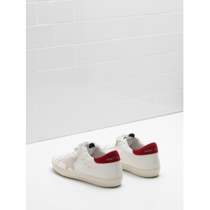 Women Golden Goose GGDB Superstar Leather Star In White Sneakers